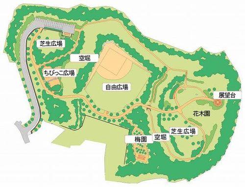 印旛沼公園・マップ