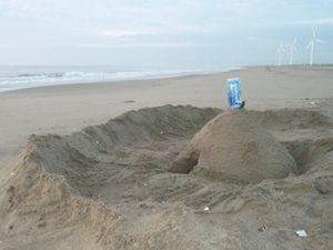 20100718・砂の砦
