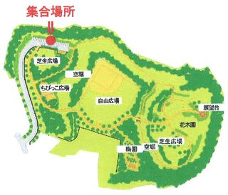 H.23.07.03.印旛沼公園・集合場所