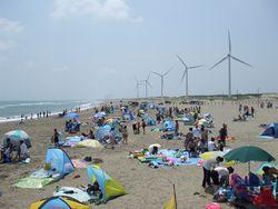 日川浜海水浴場(P5)②